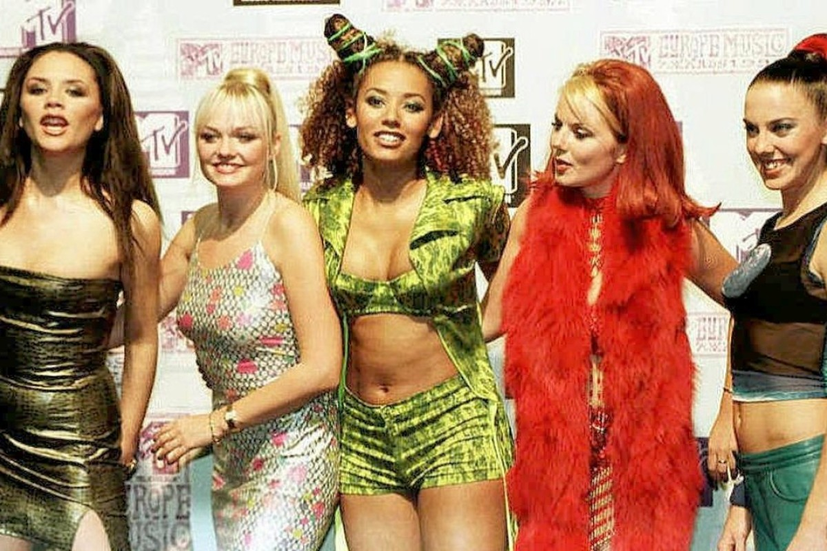 British girl group the Spice Girls in the 1990s. Picture: AFP