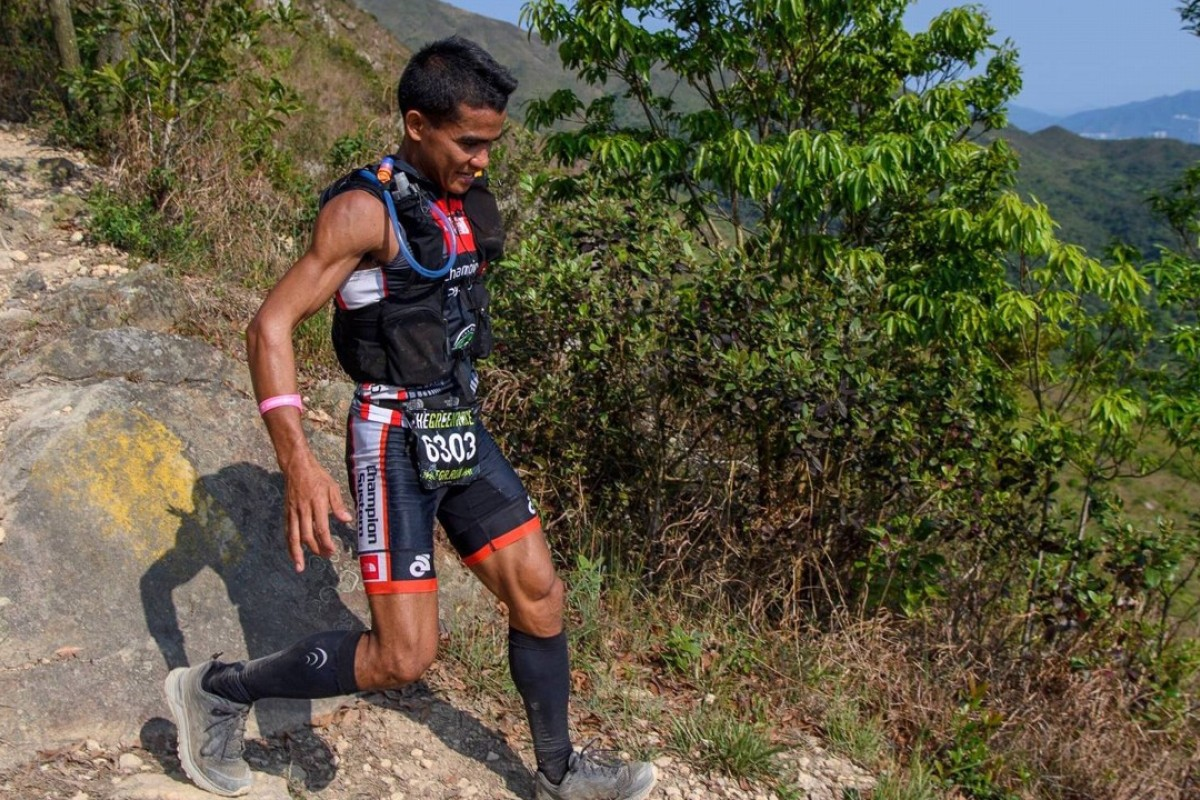 John 'Stingray' Ray Onifa's failure to get into the army led to a running career, through which he can now support his family. Photos: The North Face Adventure Team