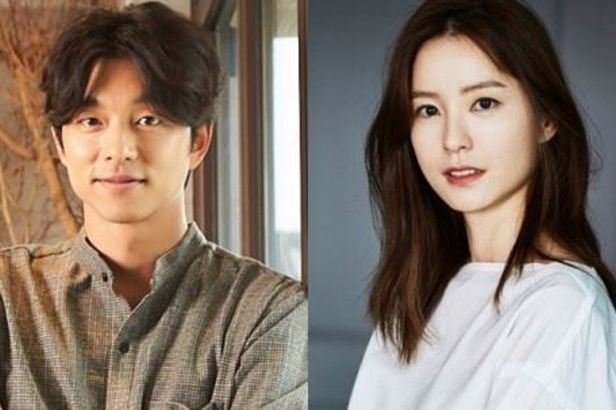 Gong Yoo (left) will play second fiddle to Jung Yu-mi, who stars as the titular character in Kim Ji Young, Born 1982. Courtesy of Management Soop