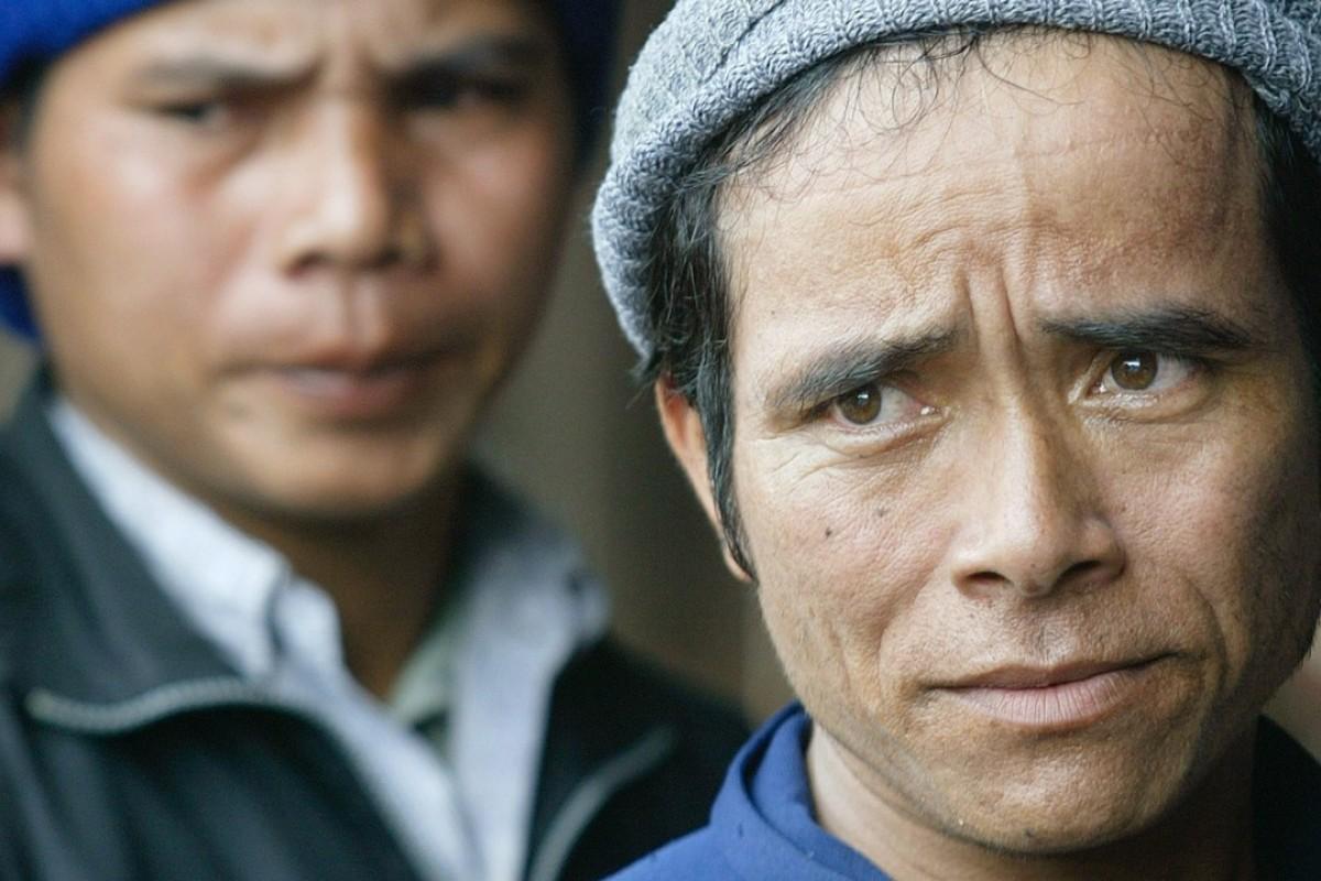 Montagnards at the Cambodia border. Photo: AP