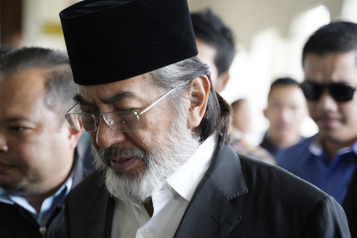 Former chief minister of Sabah state on Borneo island, Musa Aman arrives at Kuala Lumpur High Court. Photo: AP