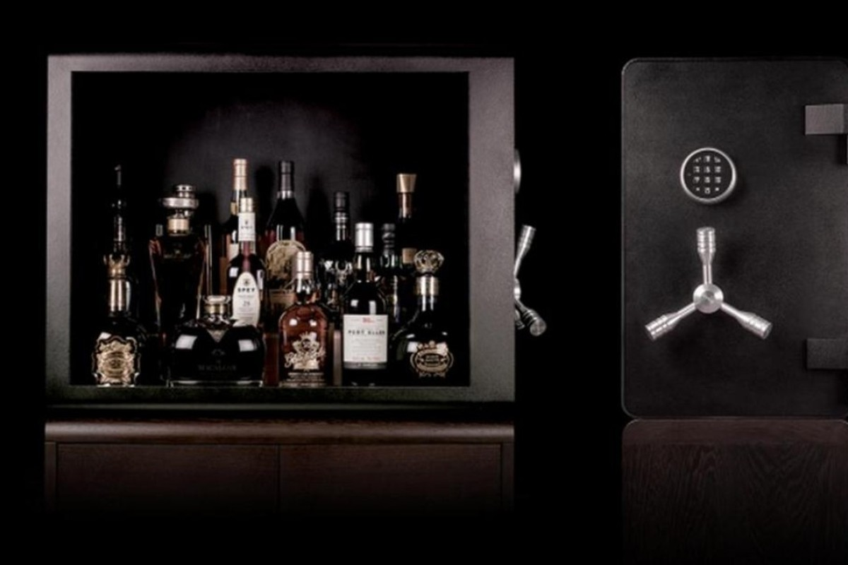 Bulletproof whisky vault is designed for serious collectors. Photo: Luxurylaunches