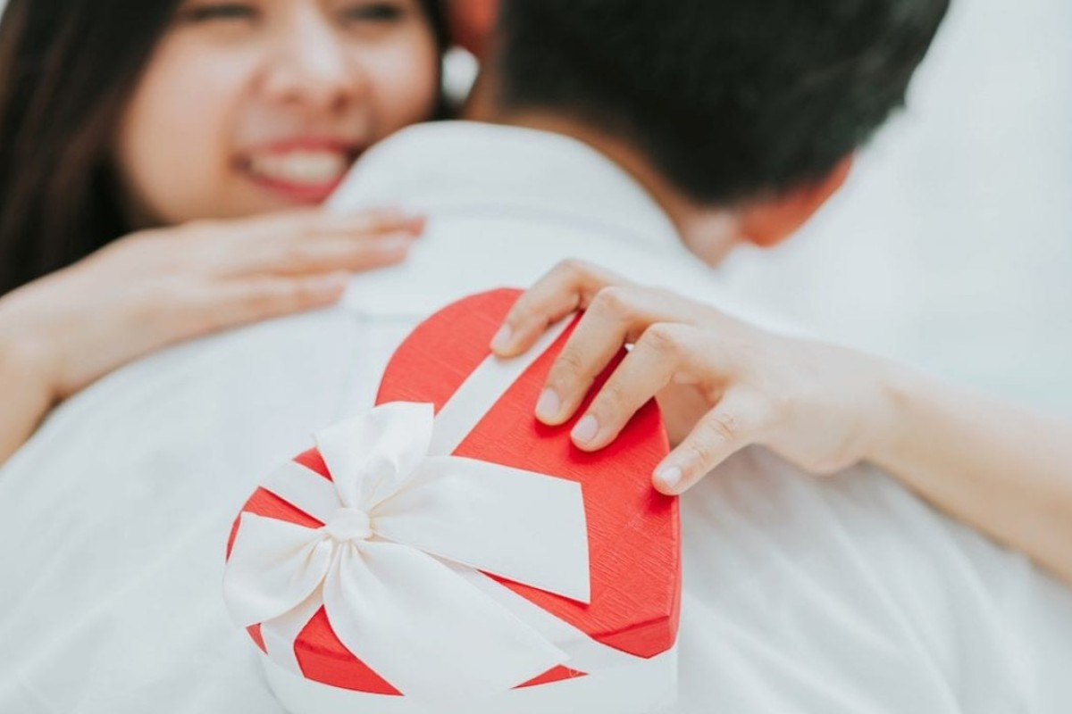 So how does a Chinese man prove his love to a woman on Singles' Day? By buying her some Yves Saint Laurent lipstick, or an iPhone X. Photo: Shutterstock