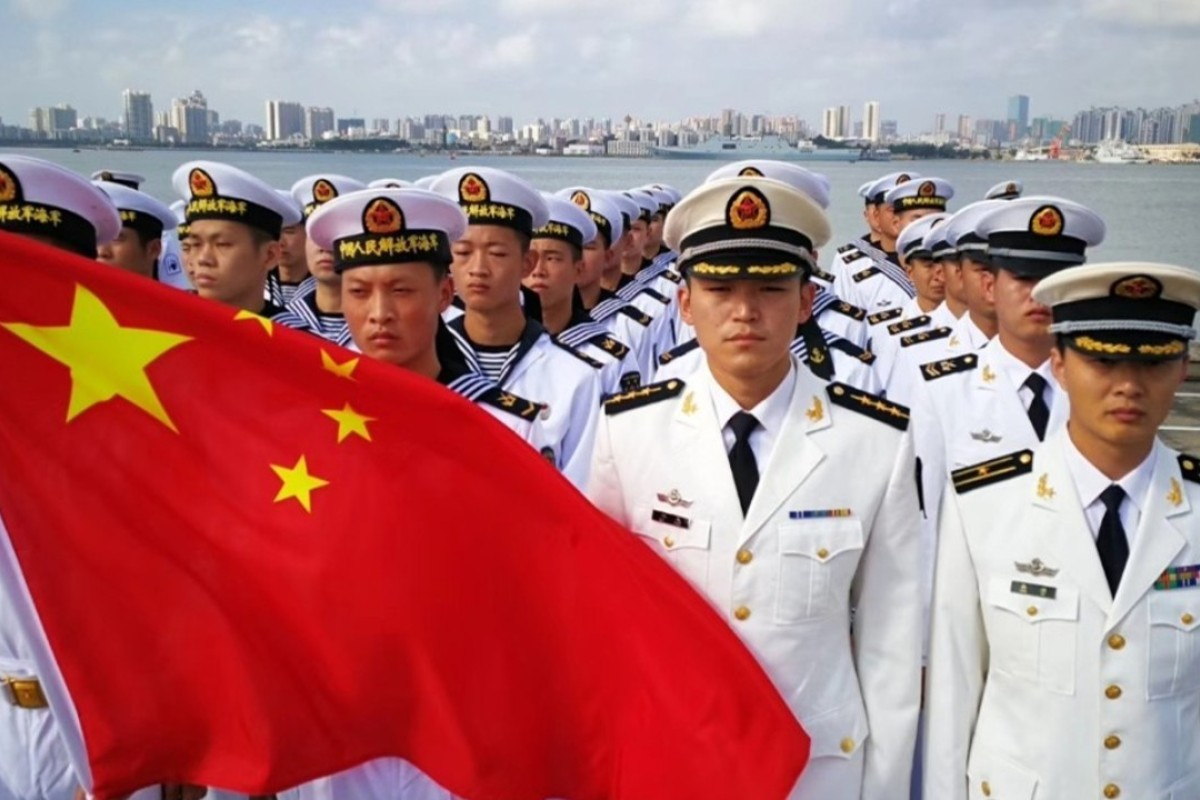 A China-Asean naval exercise. Photo: Handout