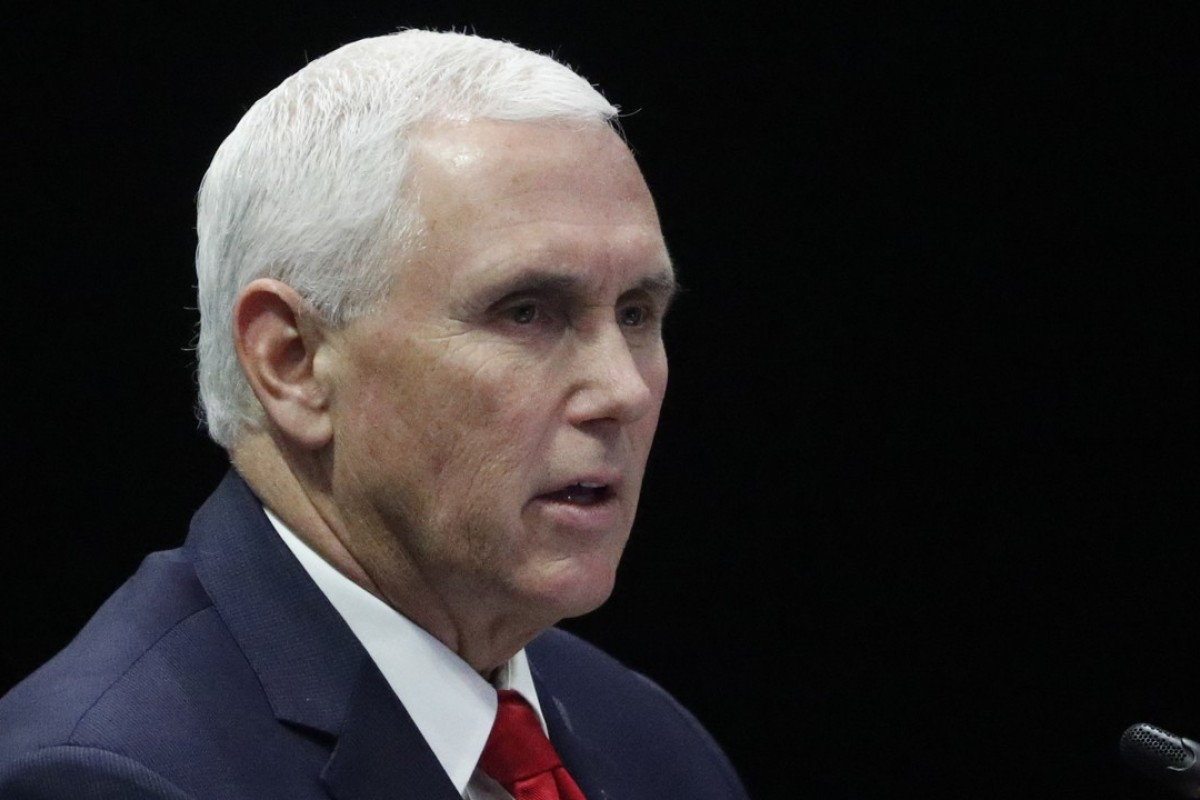 US Vice-President Mike Pence is set to unveil Washington's plans to counter China's Belt and Road Initiative. Photo: EPA