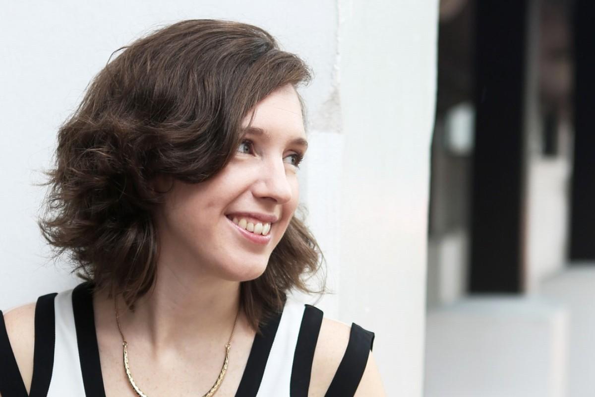 Hong Kong-based British fashion designer Emma Wallace.