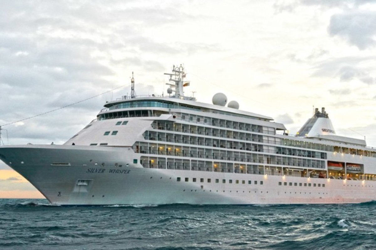 The Silver Whisper is set to begin its 140-day cruise in January 2020.