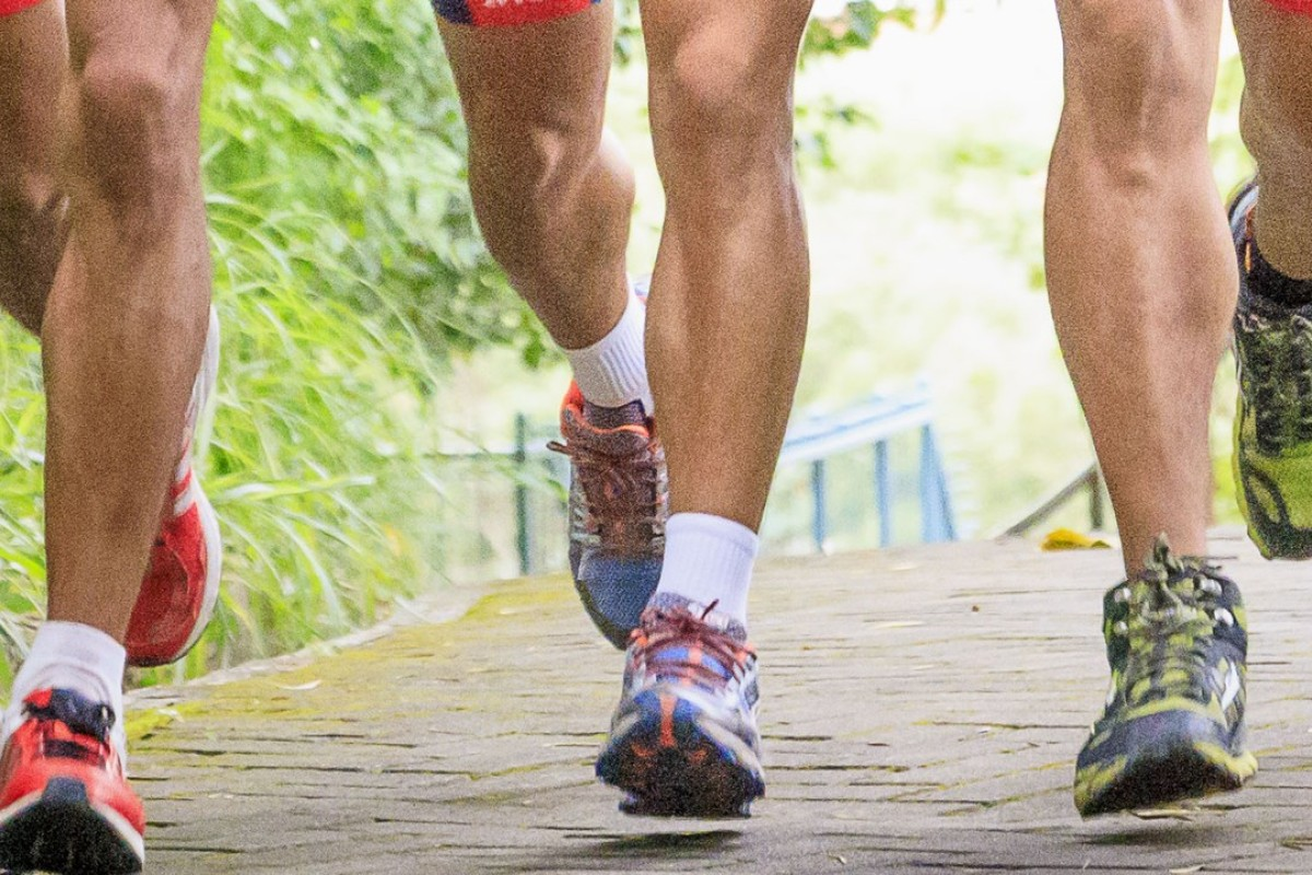 A one-two, one-two count that, repeated over time, propels runners over immense distances. Photo: Handout