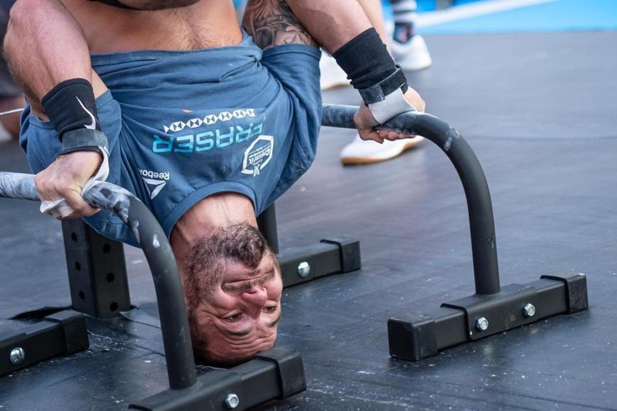 Mat Fraser competes on day three. Photos: Dubai CrossFit Championship