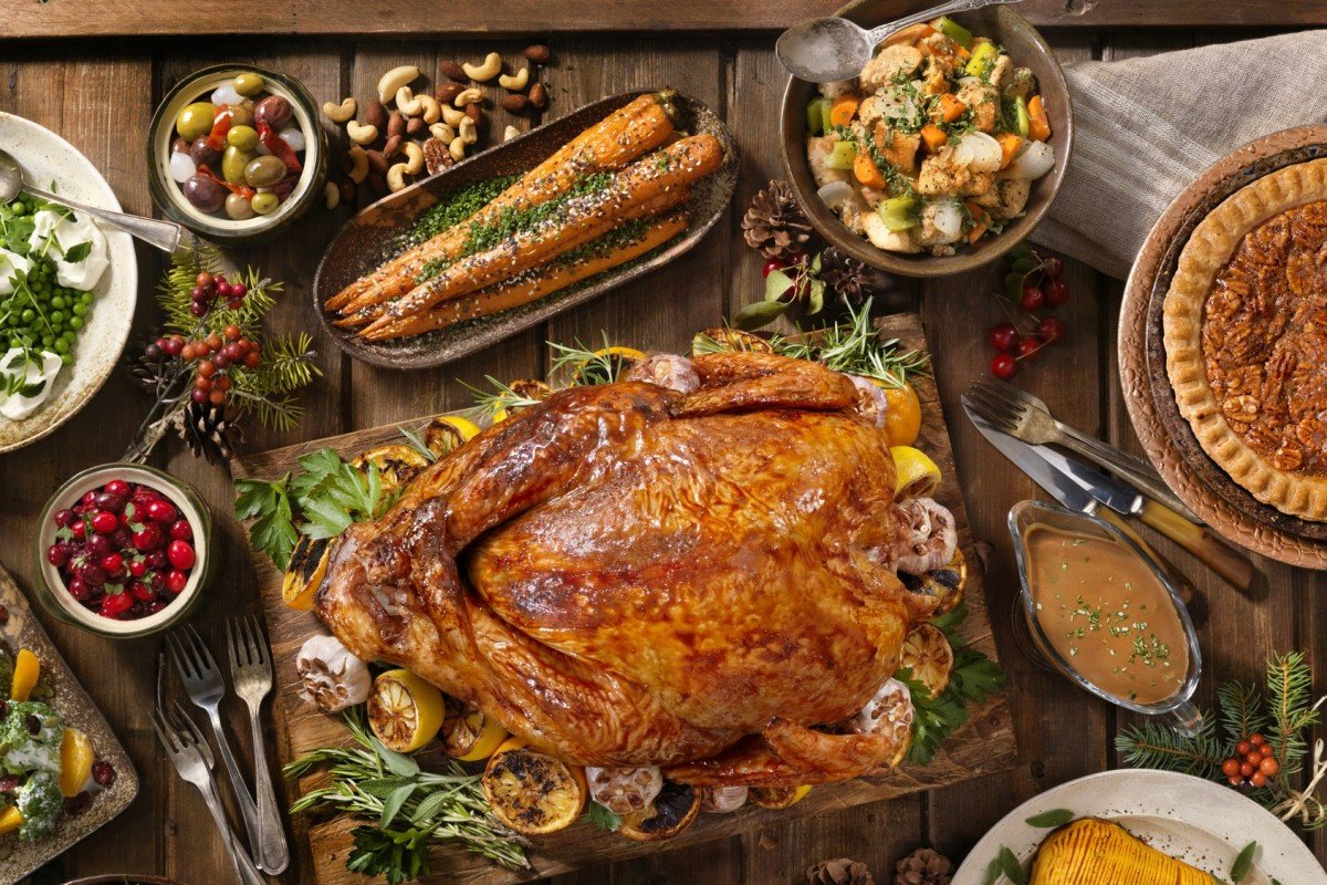 The traditional Christmas lunch offers a real treat for food lovers – but also the temptation to over eat, so be selective – and eat slowly so you enjoy the occasion as well as the food.