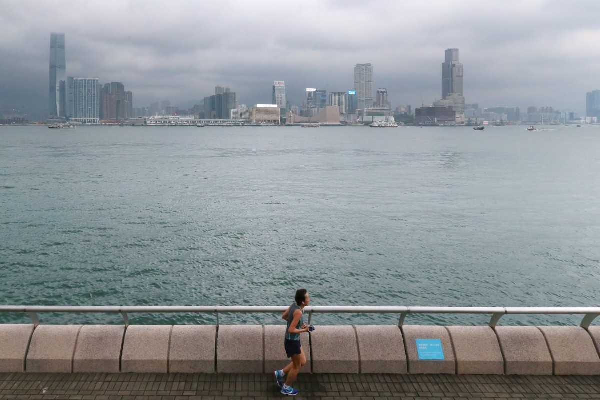 Hong Kong's running community is no longer holding its breath for designated running routes to be built along the harbourfront. SCMP/K.Y. Cheng