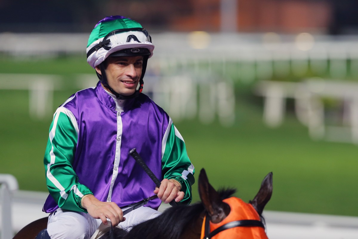 Silvestre de Sousa is primed to add more winners to his tally on Saturday. Photos: Kenneth Chan