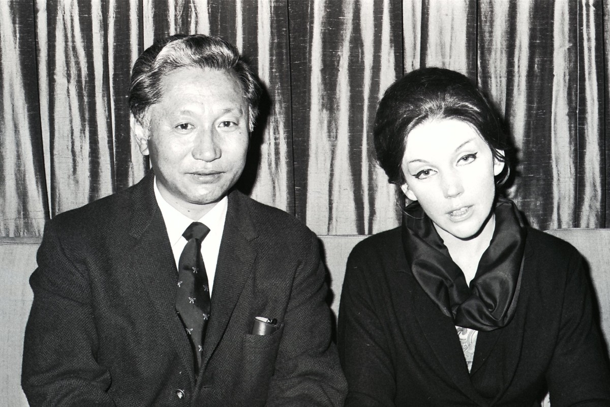 Emperor Choygal Palden Thondup Namgyal (left) of Sikkim and Queen Hope Cooke. Photo: SCMP
