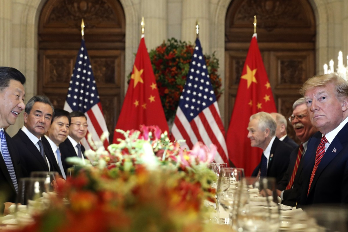 The US-China trade war remains a threat. Photo: AP