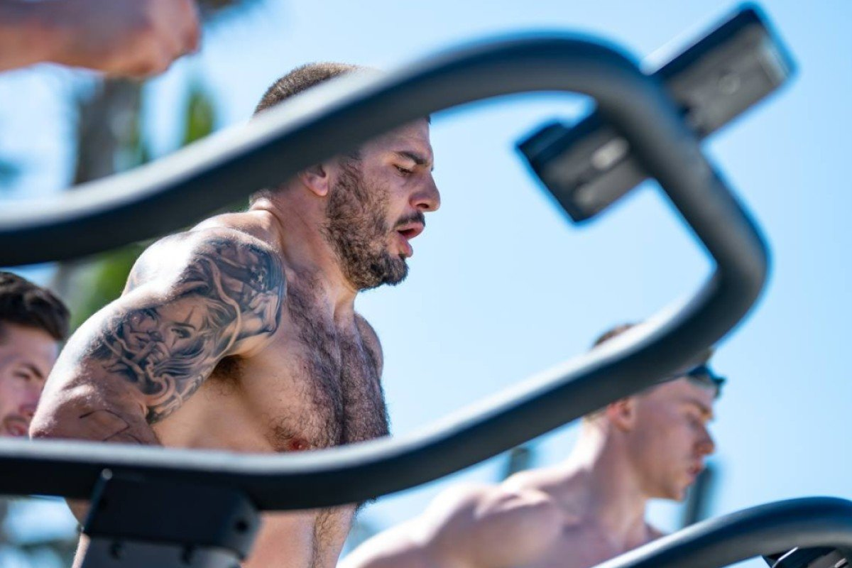 Mat Fraser at the Dubai CrossFit Championship in December of last year. He won, no surprise. Photo: Dubai CrossFit Championship