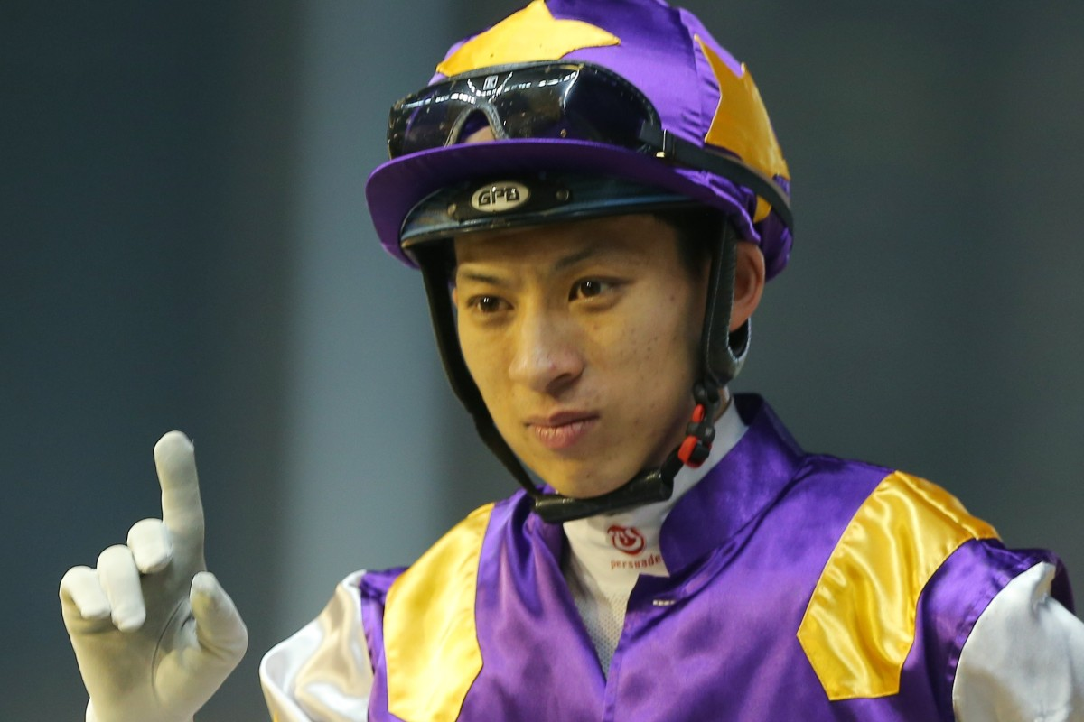 Matthew Chadwick returns at Happy Valley after riding a winner earlier this season. Photos: Kenneth Chan