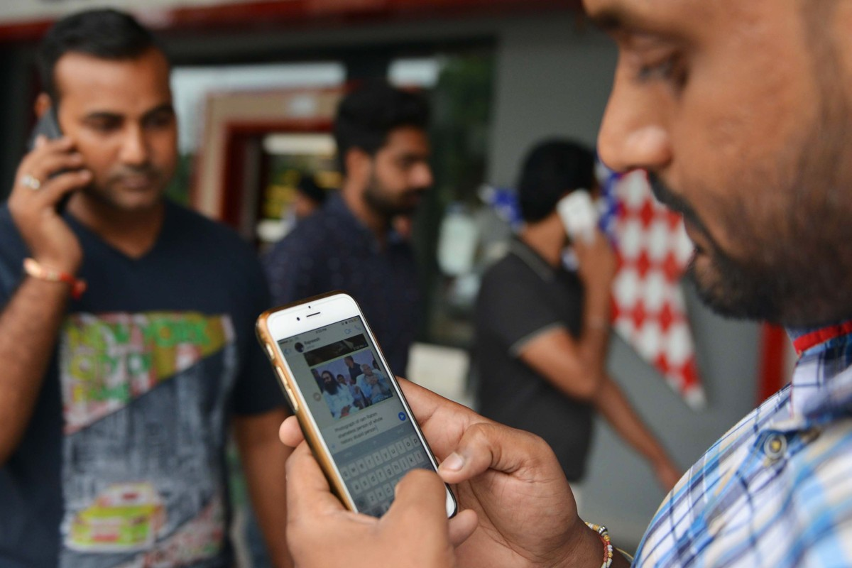 Facebook is to roll out its new fake news policies in India, which goes to the polls in April and May. Photo: AFP