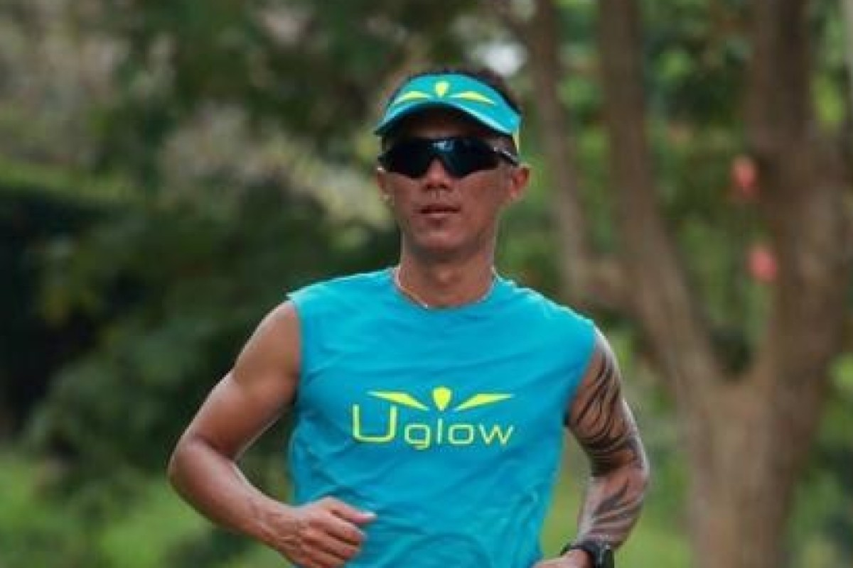 Steven Ong is running the HK4TUC and is hoping to sponsor a child for every hour he runs. Photo: Aku Wong