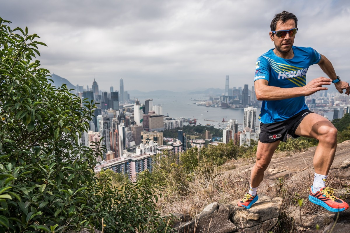Julien Chorier is one of the world's top ultra runners and he is in town for the Nine Dragons. Photo:©iancorless.com