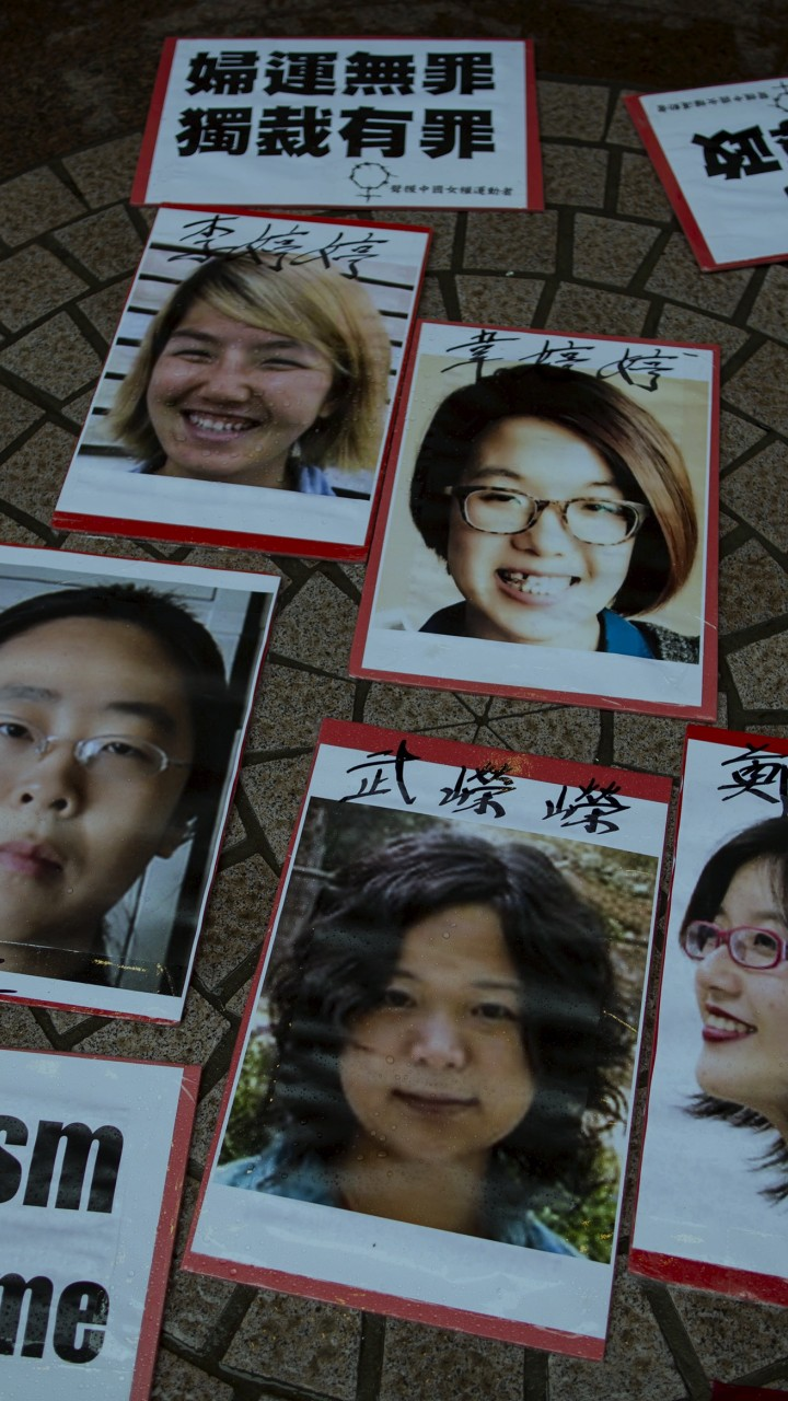 How one of China's 'Feminist Five' is fighting for women's