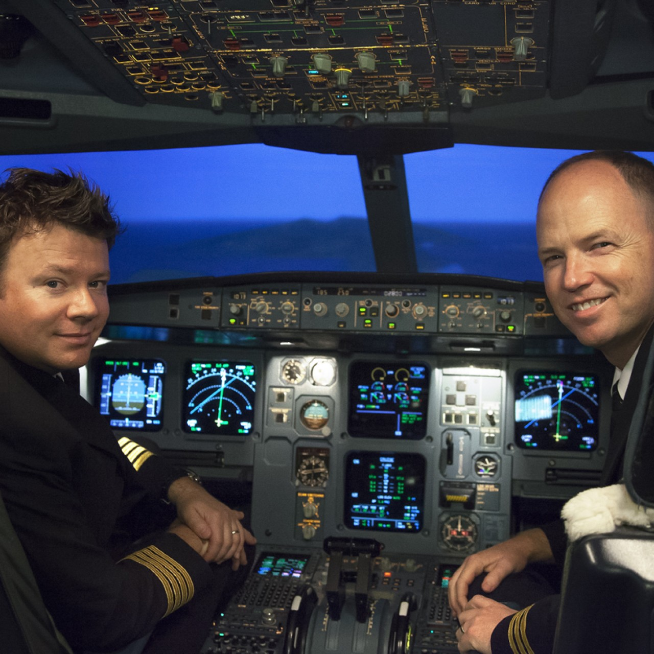 Pilots reveal death-defying ordeal as engines failed on