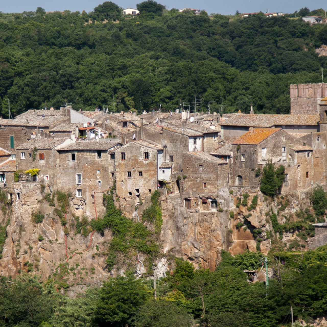 Calcata Italian Town That Lost Jesus Foreskin South China