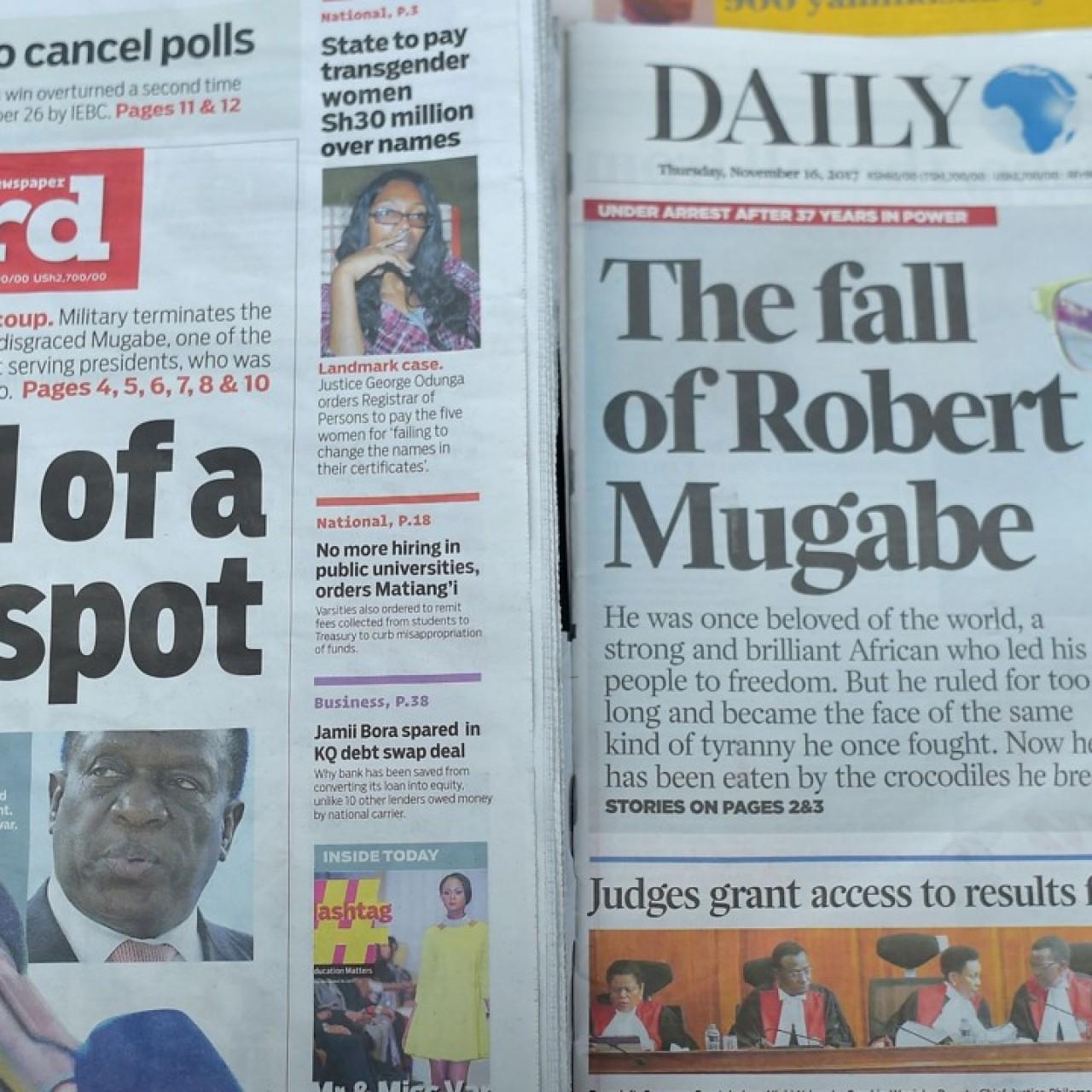 Zimbabweans face uncertain future beyond Robert Mugabe as