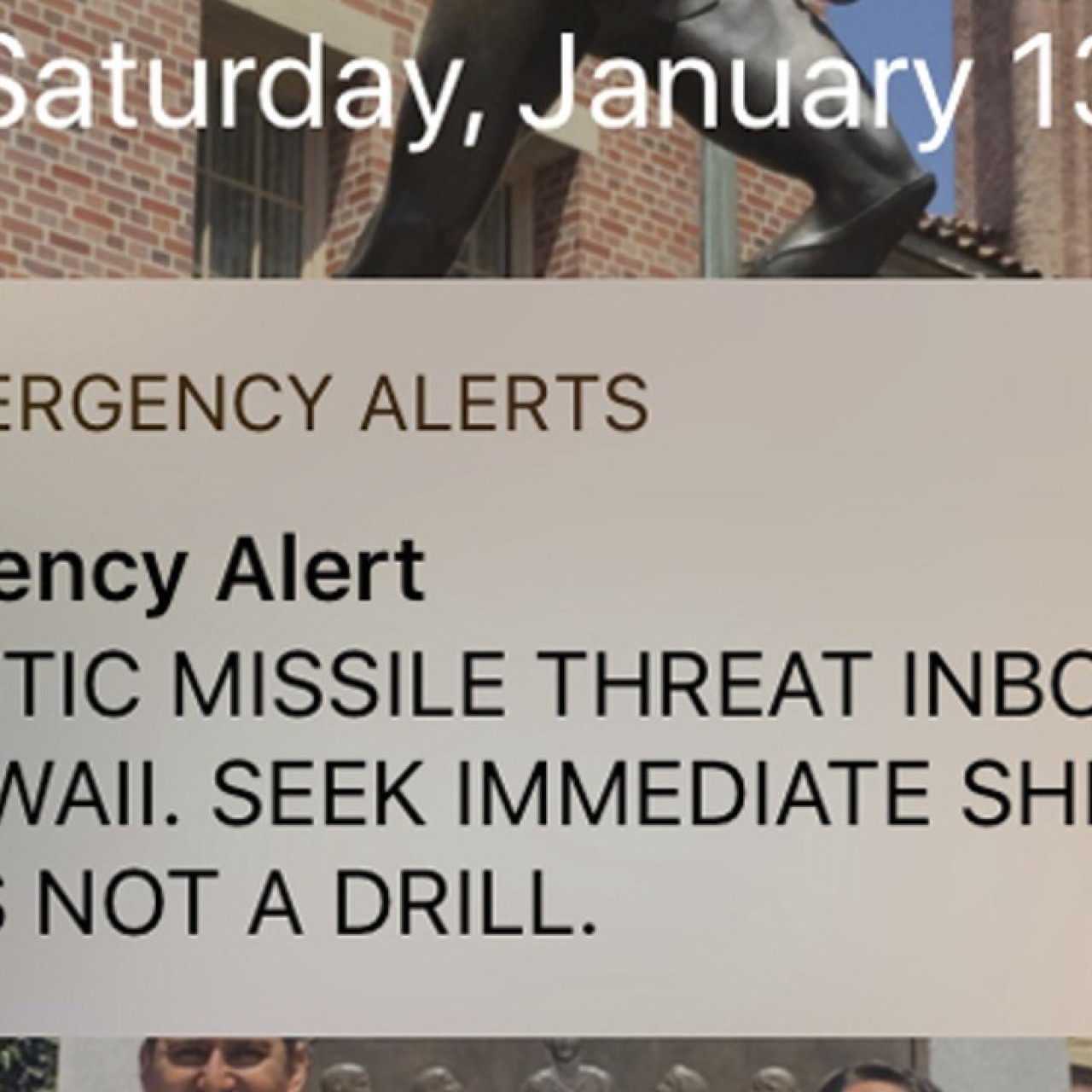 Incoming missile attack alert that spread panic in Hawaii blamed on
