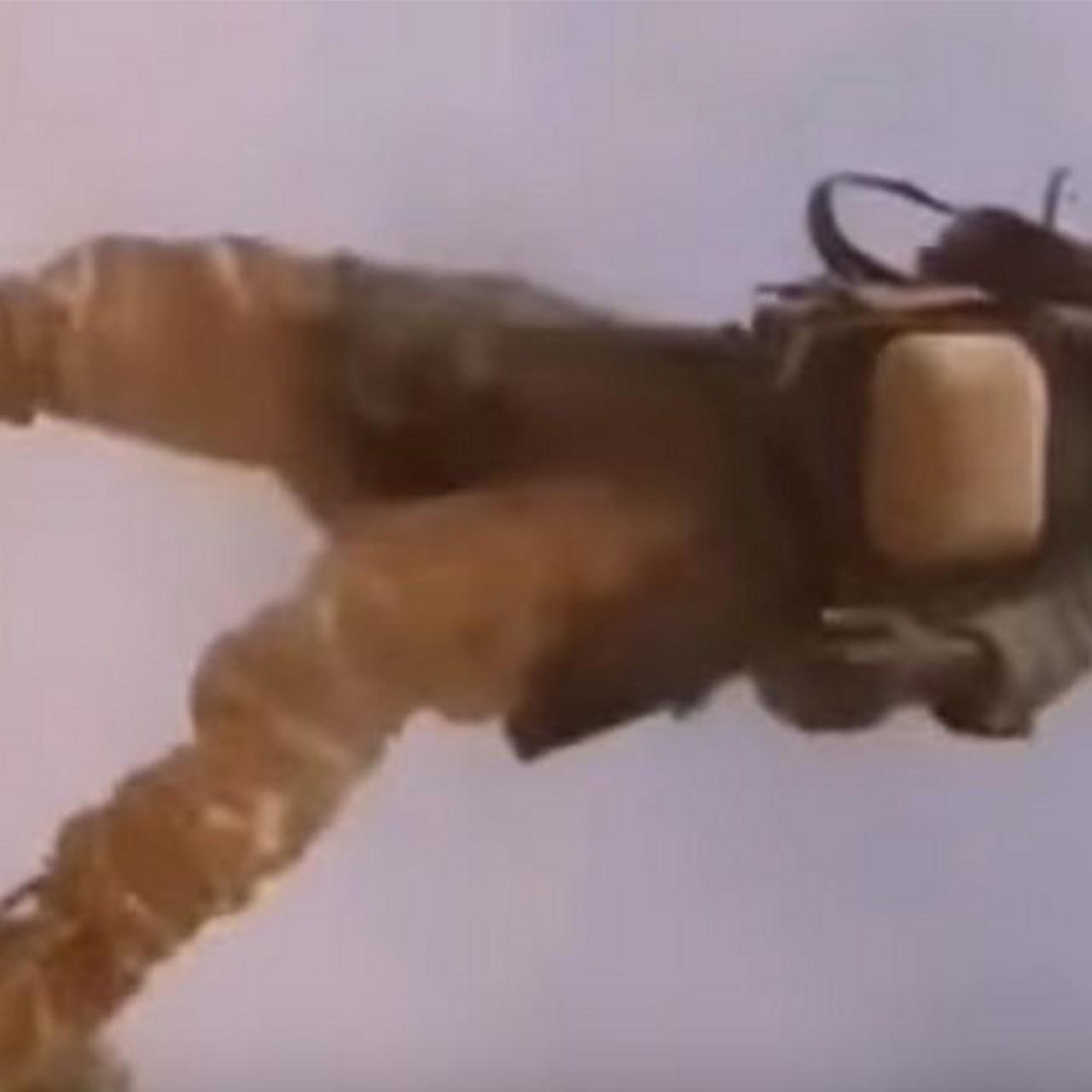 Chilling helmet-cam video, stolen from dead US soldier, shows ambush