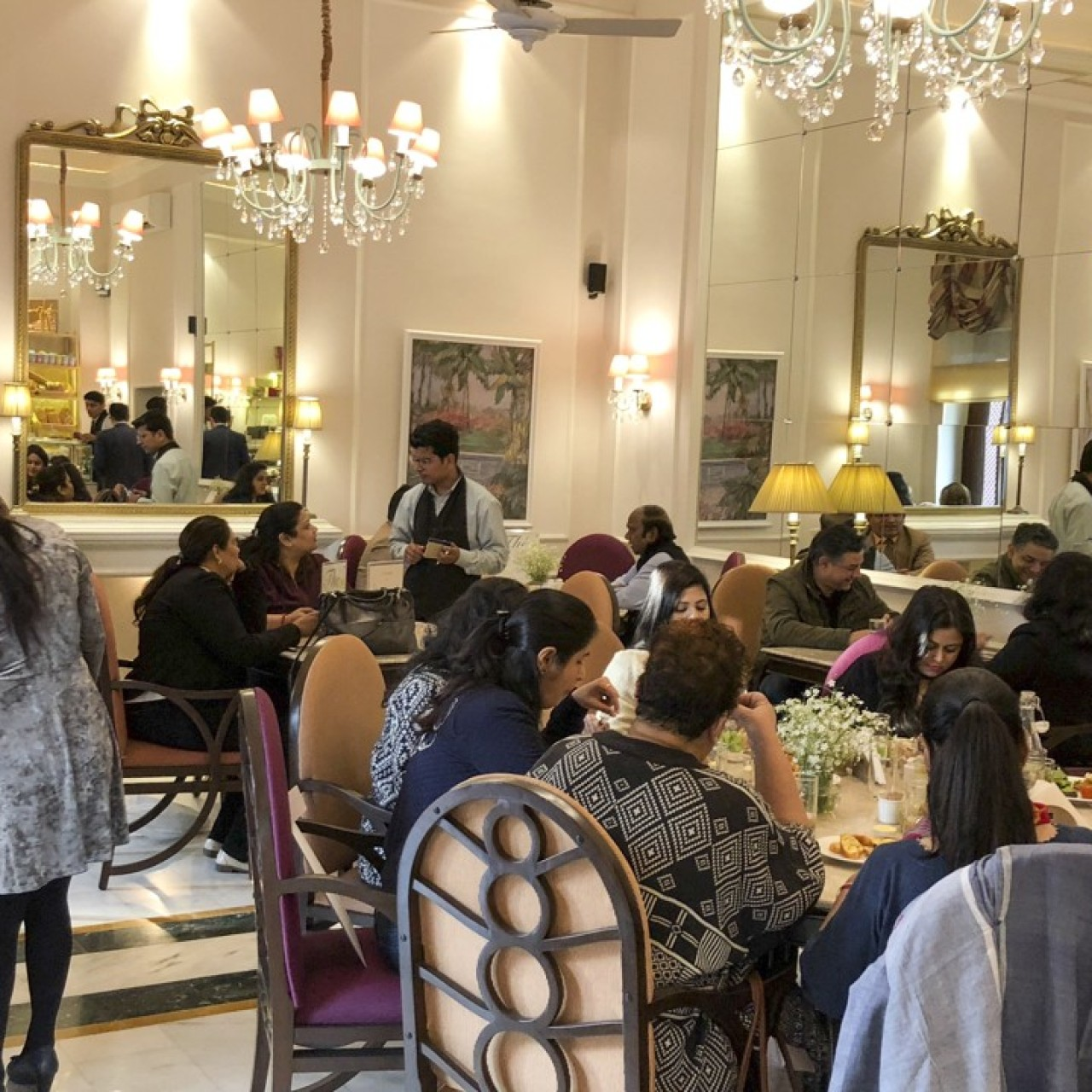 An authentic French bakery in India's New Delhi – it's not