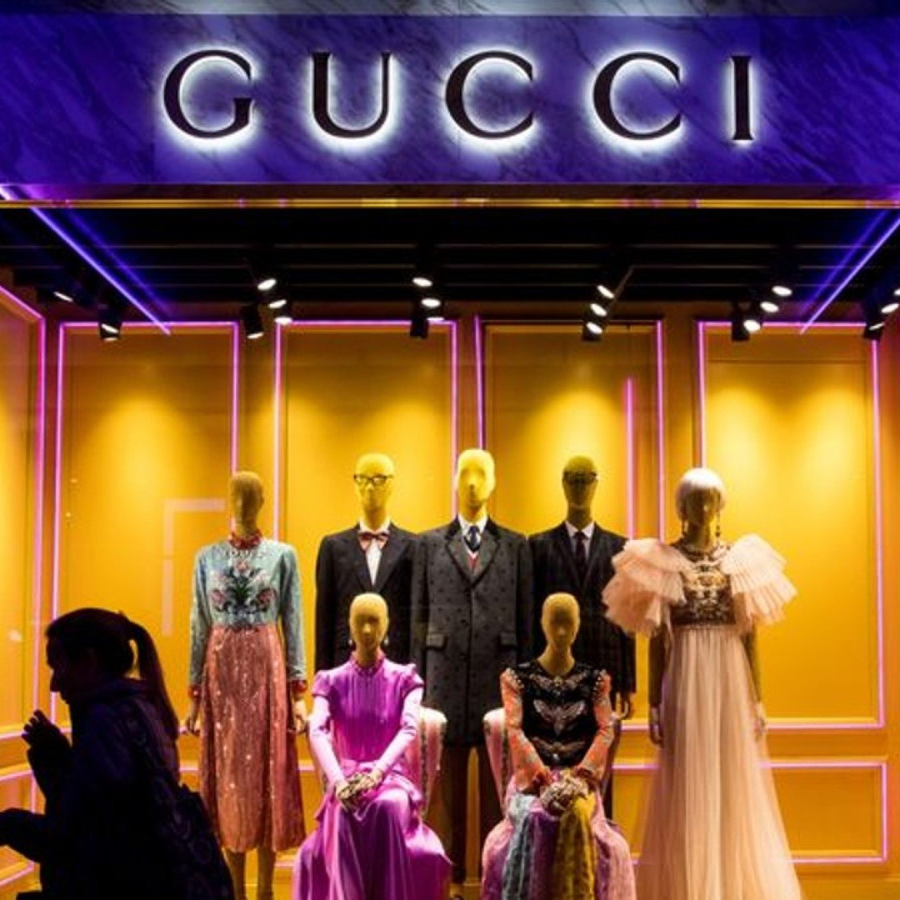 828528f572a Gucci strikes gold in China with 'Moonlight clans' who want to spend all  they earn   South China Morning Post
