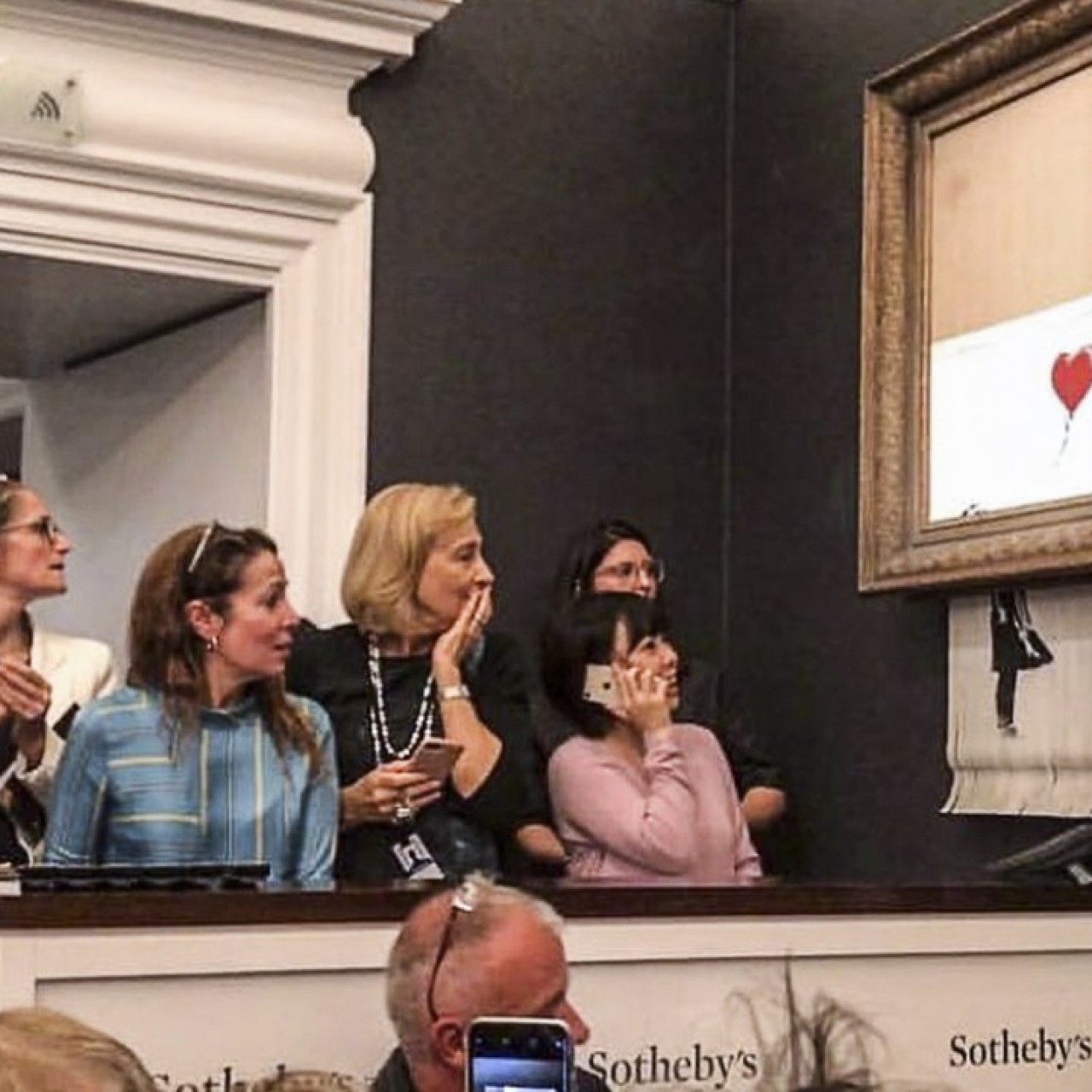 Banksy painting that self-destructed at auction will still