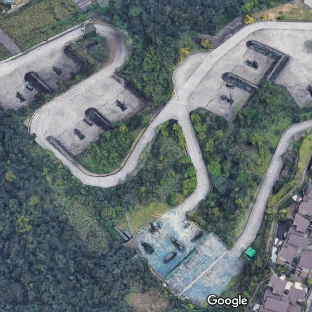 Taiwan's darkest military secrets revealed by Google Maps   South