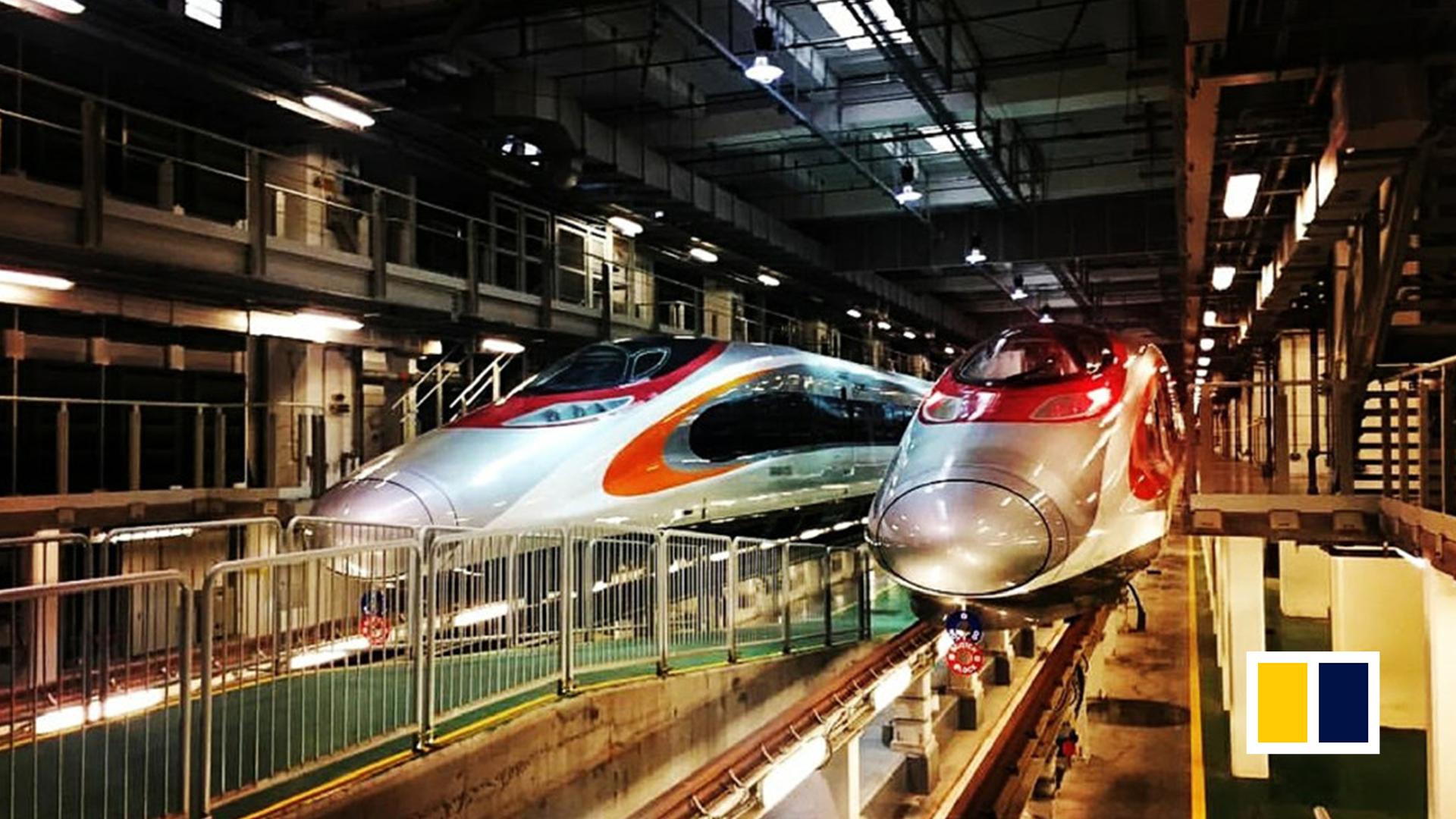Hong Kong's new high-speed rail link to mainland China